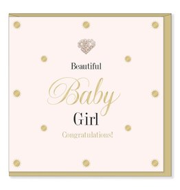 Hearts Design Beautiful Baby Girl