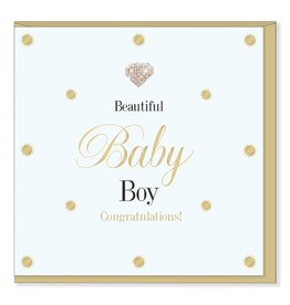 Hearts Design Beautiful Baby Boy