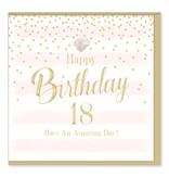 Hearts Design Birthday 18