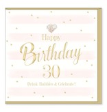 Hearts Design Birthday 30