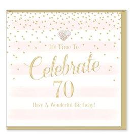 Hearts Design Celebrate 70