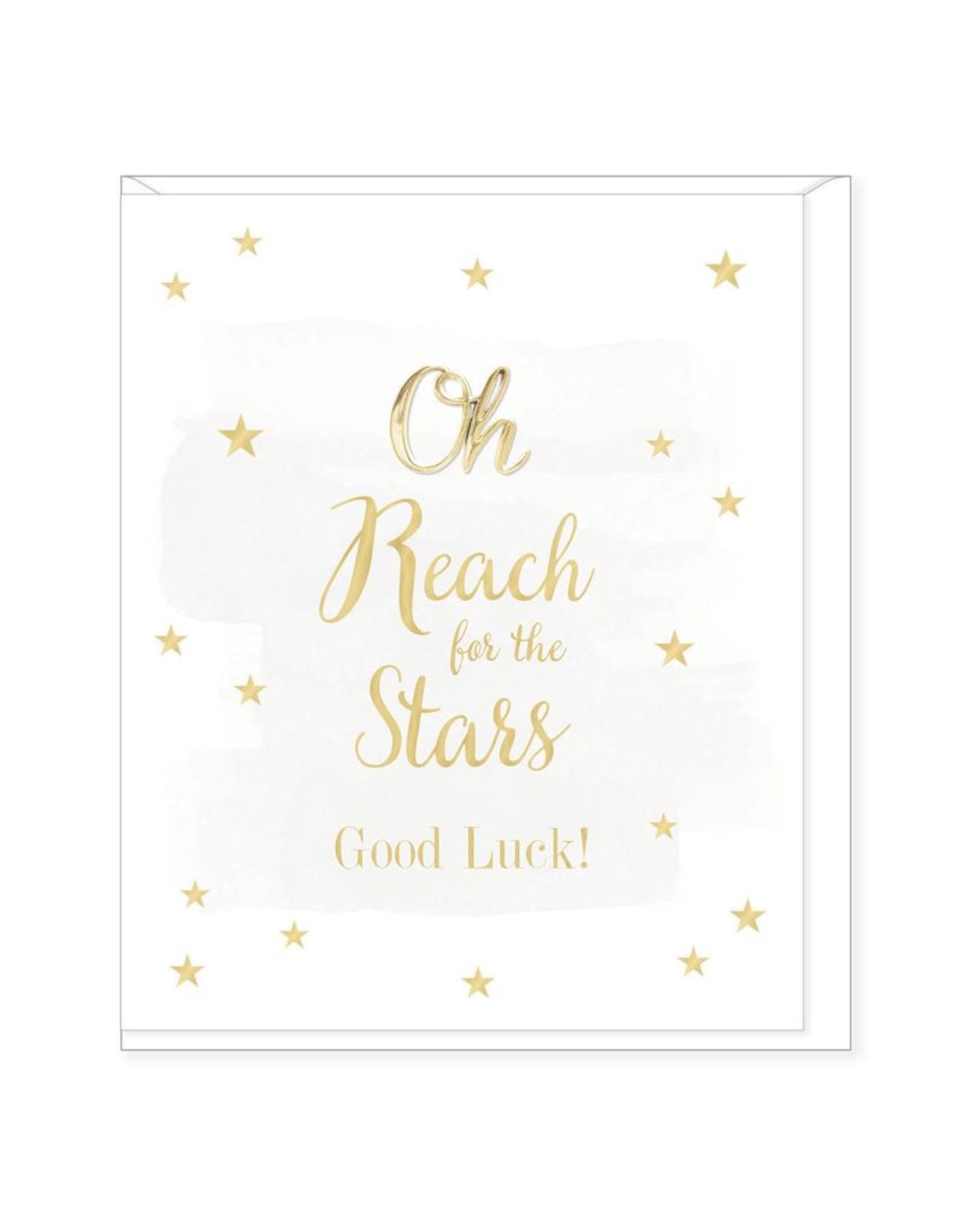 Hearts Design Wenskaart - Good Luck