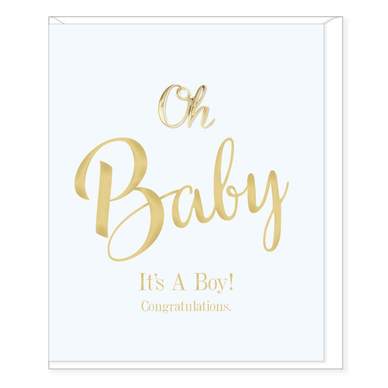 Hearts Design Oh Baby, it's a Boy!