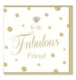 Hearts Design Fabulous Friend