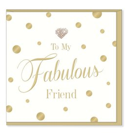 Hearts Design Fabulous Friend