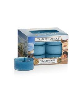 Yankee Candle Viva Havana  Tea Light 12 st