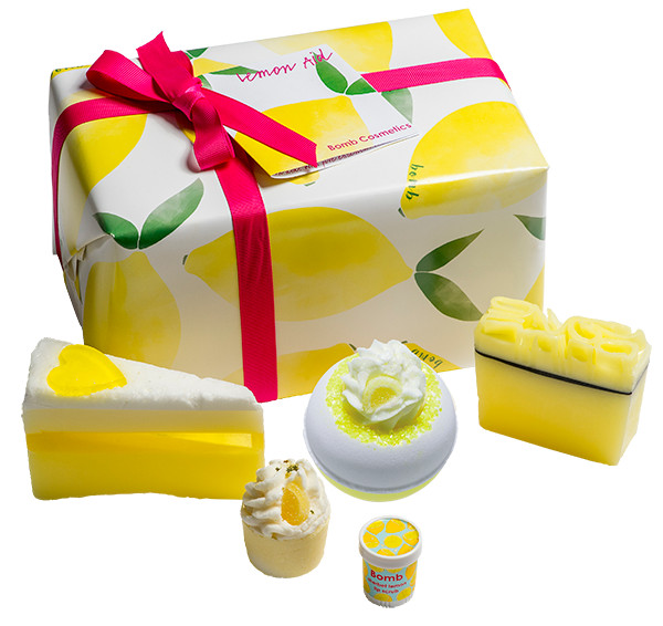 Bomb Cosmetics Lemon Aid - Giftbox