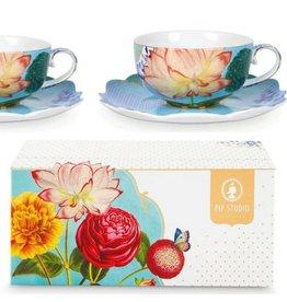 Pip Studio Royal Flowers - Theetassen Set/2