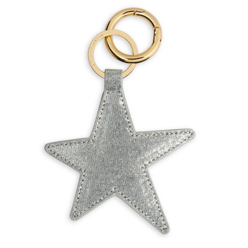 Katie Loxton Bag Charm - Shimmering Silver