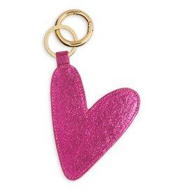 Katie Loxton Bag Charm - Sugar Berry Pink