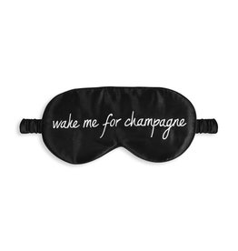 Katie Loxton Slaapmasker - Wake me for Champagne