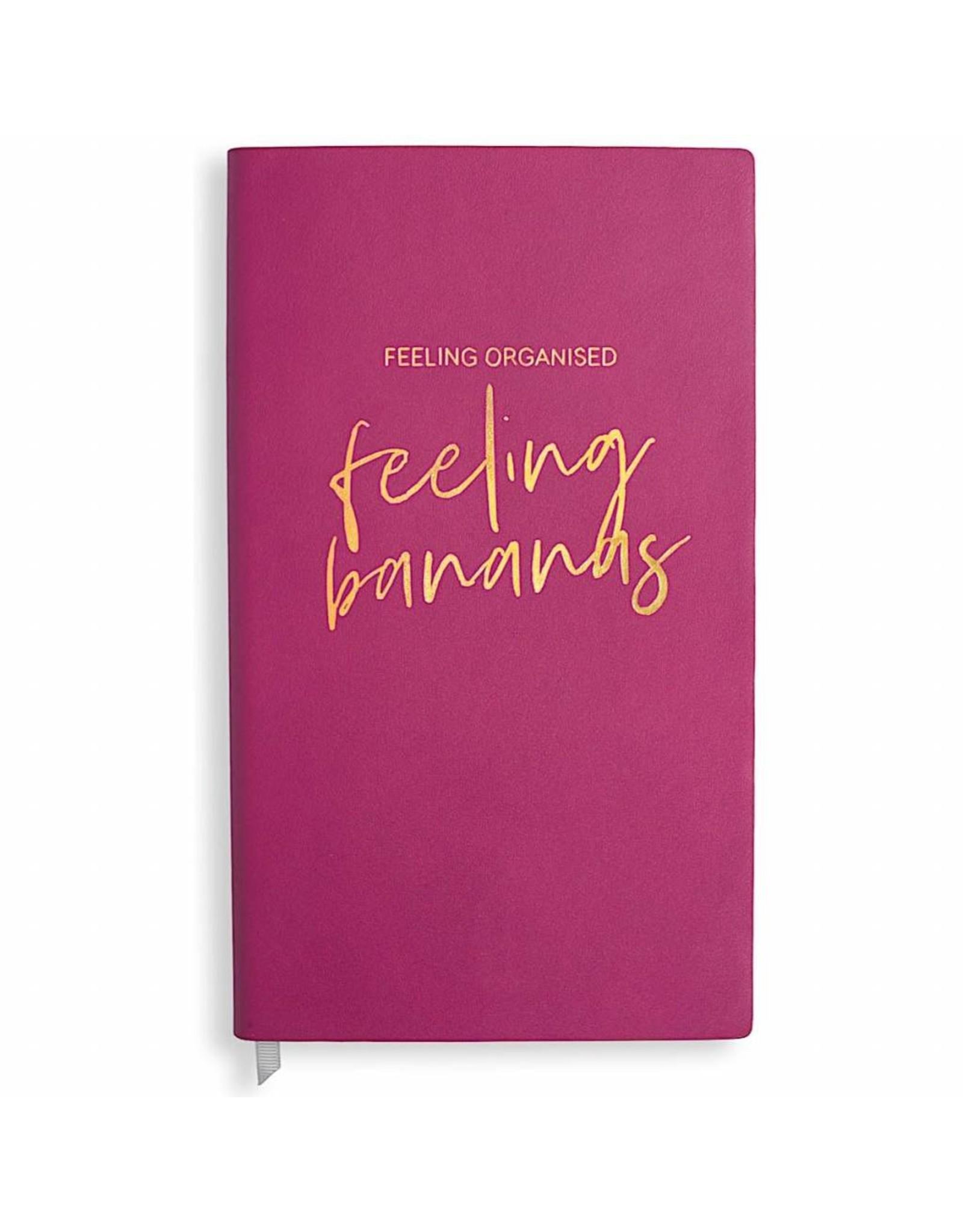 Katie Loxton Notaboek - Feeling Organised, Feeling Bananas