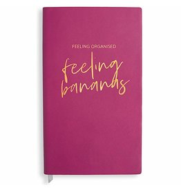 Katie Loxton Notaboek - Feeling Organised, Feeling Bananas