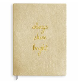 Katie Loxton Notaboek - Always Shine Bright