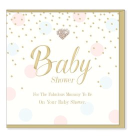 Hearts Design Baby Shower