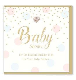 Hearts Design Wenskaart - Baby Shower