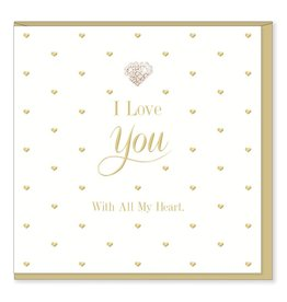 Hearts Design I Love You