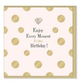 Hearts Design Enjoy Every Moment - Birthday