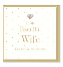 Hearts Design Beautiful Wife - Birthday