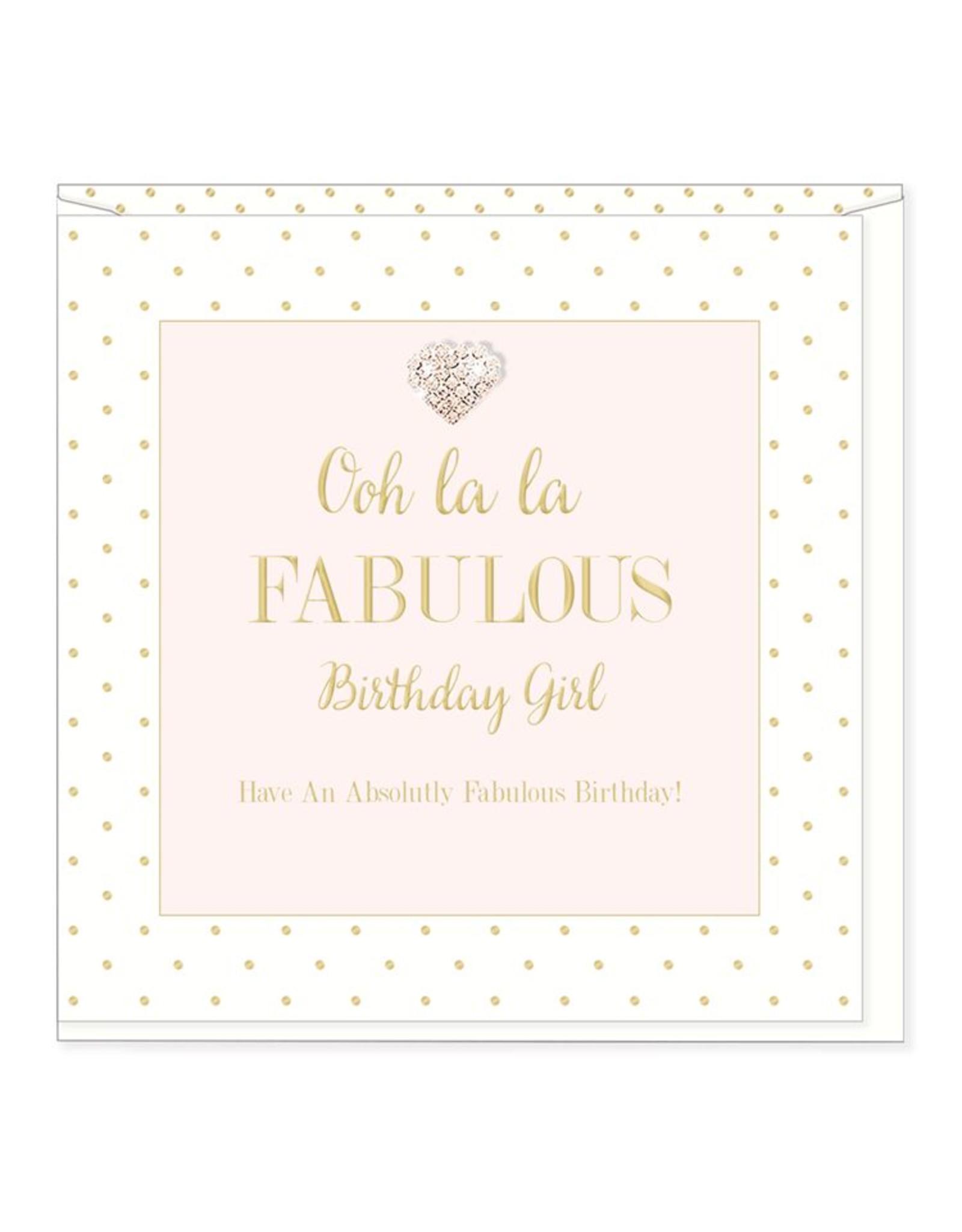 Hearts Design Ooh La La - Birthday Girl