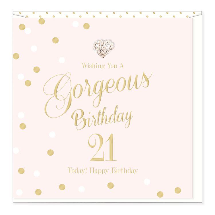 Hearts Design Gorgeous Birthday - 21