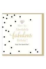 Hearts Design Wenskaart - Have a Fabulous Birthday