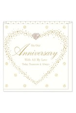 Hearts Design On our Anniversary