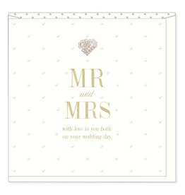 Hearts Design Mr & Mrs - On your Wedding Day