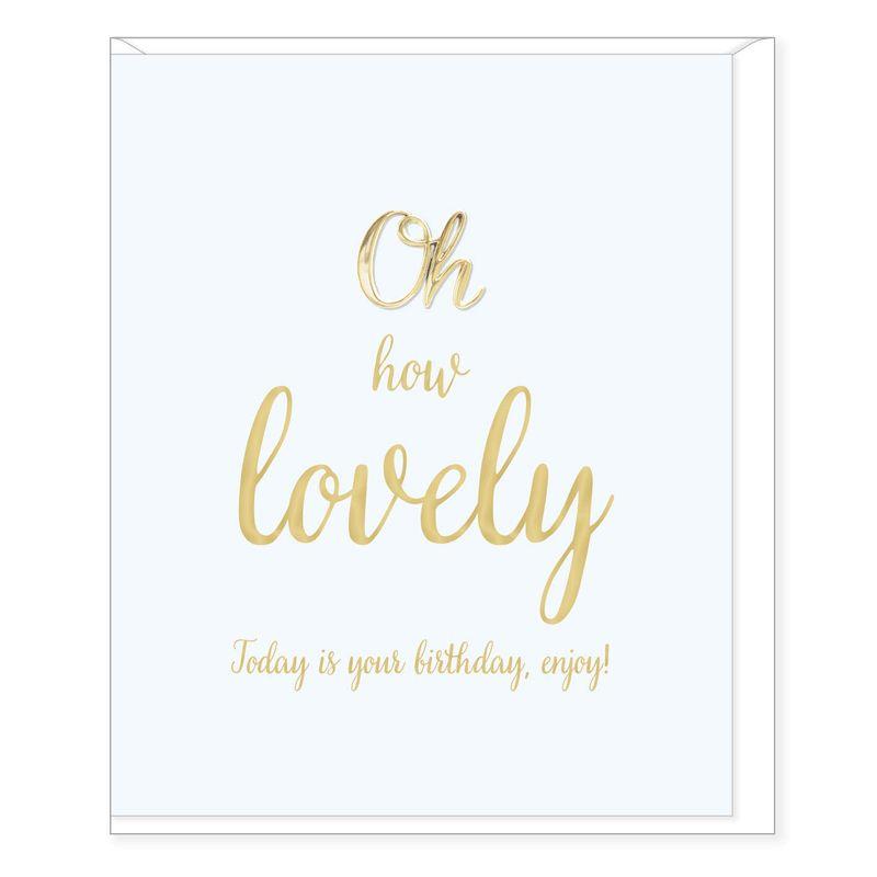 Hearts Design Lovely Birthday