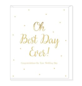 Hearts Design Best Day Ever - Wedding