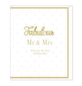 Hearts Design Fabulous Mr & Mrs