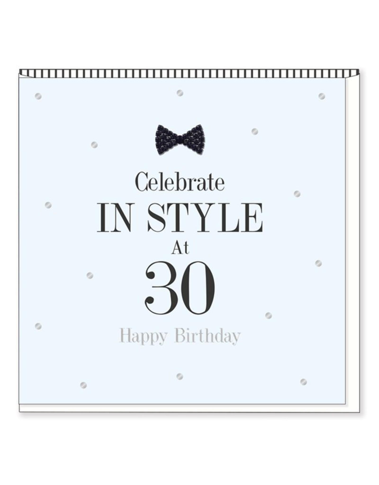Hearts Design Wenskaart - Celebrate in Style - 30