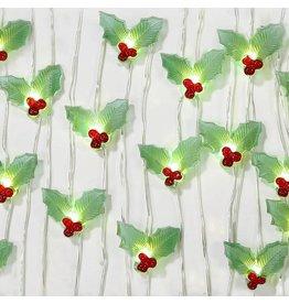 Talking Tables Botanical Christmas - Lichtslinger Hulst