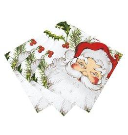 Talking Tables Botanical Christmas - Servetten Santa