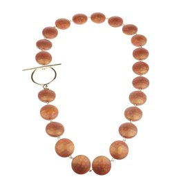 Camps&Camps Ketting - Circle Amber