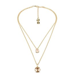 Camps&Camps Ketting - Double Sparkle Champagne