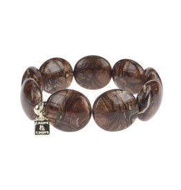 Camps&Camps Armband - Pastille Bruin