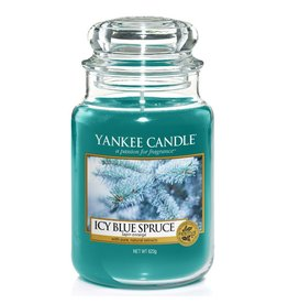 Yankee Candle Icy Blue Spruce - Large Jar