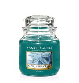 Yankee Candle Icy Blue Spruce - Medium Jar