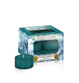 Yankee Candle Icy Blue Spruce - Tea Lights 12st