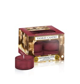 Yankee Candle Glittering Star - Tea Lights 12st