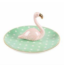 Sass&Belle Juwelenschaaltje - Tropical Flamingo