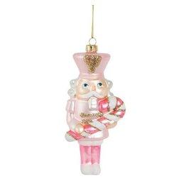 Sass&Belle Kerstdecoratie - Notenkraker Roze