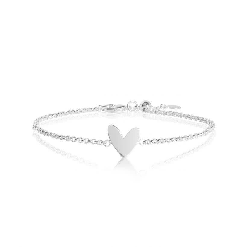 Katie Loxton Armband - Sterling Silver - Live Love Laugh