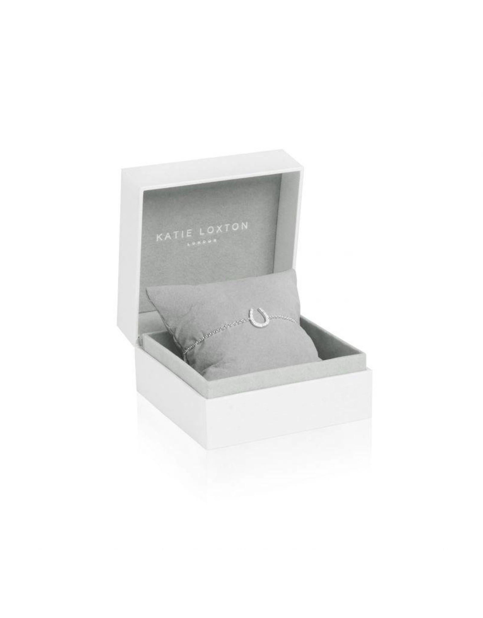 Katie Loxton Armband - 925 zilver - Hoefijzer - Love Luck Sparkle