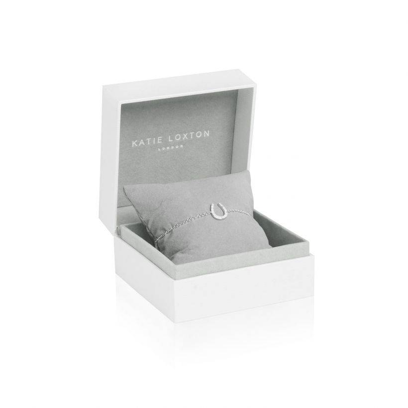 Katie Loxton Armband - Sterling Silver - Love Luck Sparkle