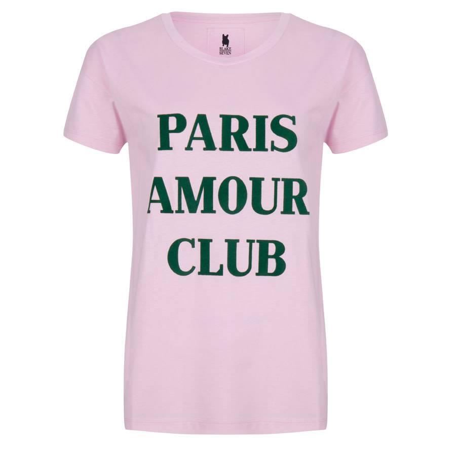 Blake Seven T-shirt - Paris Amour Club