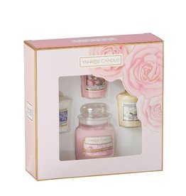 Yankee Candle Giftset - 3 votive & 1 small jar