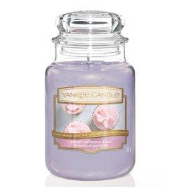 Yankee Candle Sweet Morning Rose - Large jar