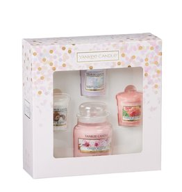 Yankee Candle Giftset Spring - Small jar & Votives